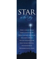 Star in the Sky Christmas Bookmarks, 25