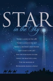 Star in the Sky Christmas Bulletins, 100