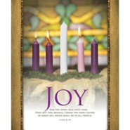 Joy (Luke 2:10, KJV) Large Bulletins, 100