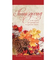 Thanksgiving is the Response (Psalm 103:2, KJV) Offering Envelopes, 100