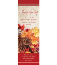 Thanksgiving is the Response (Psalm 103:2, KJV) Bookmarks, 25