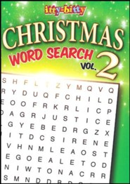 Christmas Word Search and More, Volume 2: itty Bitty  Activity Book