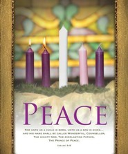 Peace (Isaiah 9:6, KJV) Large Bulletins, 100