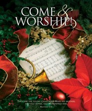 Come and Worship! (Matthew 2:11, NKJV) Large Bulletins, 100
