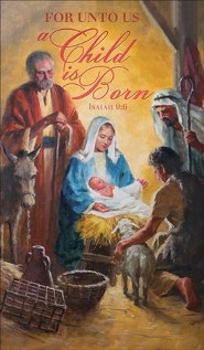 A Child is Born (Isaiah 9:6) Announcement Folders, 100