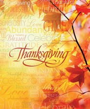 Words of Thanksgiving Large Bulletins, 100