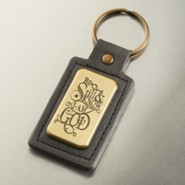 Be Still and Know That I Am God Keyring in Tin