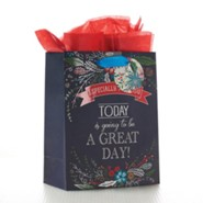Today Is Going To Be A Great Day, Gift Bag, Medium