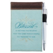 Blessed, Pocket Memo Pad and Pen