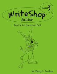 WriteShop Junior Level 3 Fold-N-Go Grammar Pack