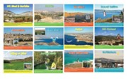 Bible Story Places, Set of 12 Holy Land Pictures