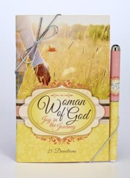 Woman of God--Devotional and Pen Gift Set