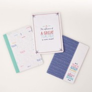 A Great Teacher Notebook Set, Large
