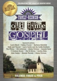 Country's Family Reunion: Old Time Gospel, Volumes 3 & 4 - 2 DVDs
