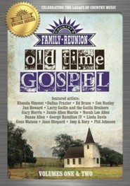 Country's Family Reunion: Old Time Gospel, Volumes 1 & 2 - 2 DVDs