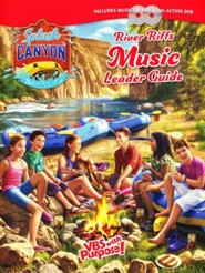 Splash Canyon: River Riffs Music Guide CD & DVD