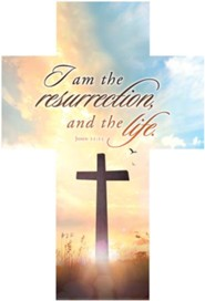 I Am the Resurrection (John 11:25) Cross Bookmarks, 25