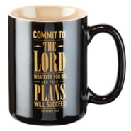 Commit To the Lord Whatever You Do Mug