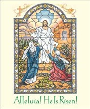 Alleluia, He is Risen Large Bulletins, 100