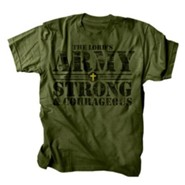 The Lord's Army Shirt, Green, 3X Large