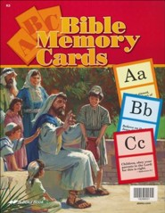 Abeka Large ABC Bible Memory Cards
