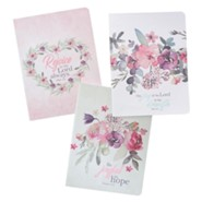 Rejoice Notebooks, Set of 3