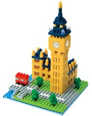 Nanoblock Sights To See, Big Ben