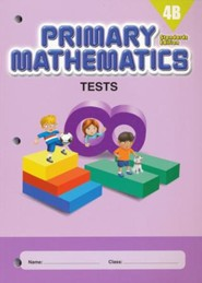 Primary Mathematics Tests 4B (Standards Edition)