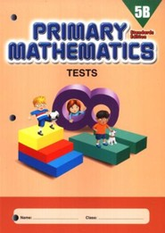 Primary Mathematics Tests 5B (Standards Edition)