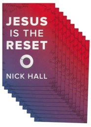 Jesus Is the Reset, pack of 10
