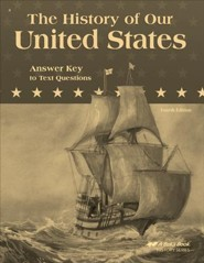 Abeka The History of Our United States in Christian   Perspective Answer Key to Text Questions