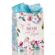 To Mom, With Love, Gift Bag, Medium