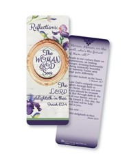 The Woman God Sees, Jumbo Bookmark, KJV