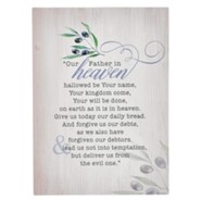 The Lord's Prayer Wall Plaque