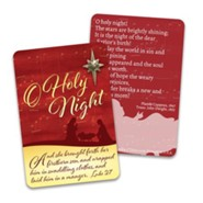 O Holy Night Lapel Pin & Card