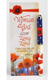 Living Loved, Pen and Jumbo Bookmark Set