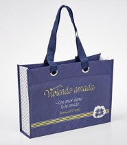 Viviendo Amada, Bolso de Mano (Living Loved, Tote Bag)