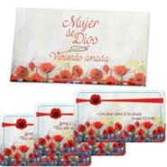 Viviendo Amada, 7 Tarjetas con Escrituras y Billetera  (Living Loved, 7 Scripture Cards and Wallet)