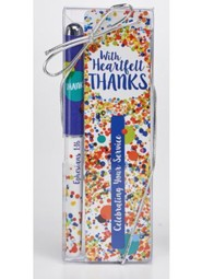 Heartfelt Thanks Bookmark and Pen Set
