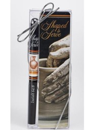 Shaped to Serve Bookmark and Pen Set