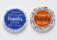 Round of Thanks Pocket Token, Set of 6