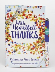 Heartfelt Thanks Gift Book and Pen Set
