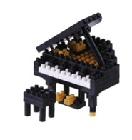 Nanoblock Mini, Grand Piano, Black