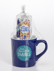 Heartfelt Thanks, Mug, Bookmark, Pen Gift Set