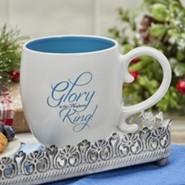 Glory To the Newborn King Mug