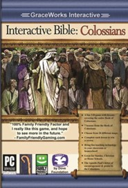 Interactive Bible: Colossians Computer Game (Access Code Only)