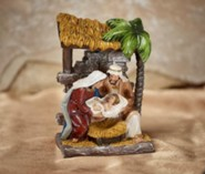 Glory To the Newborn King, Holy Family Figurine
