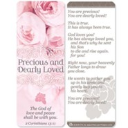 Precious and Dearly Loved Jumbo Bookmark