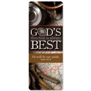 God's Direction is Always Best Jumbo Bookmark