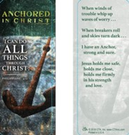 I Can Do All Things Through Christ Jumbo Bookmark